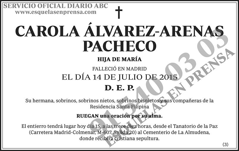 Carola Álvarez-Arenas Pacheco